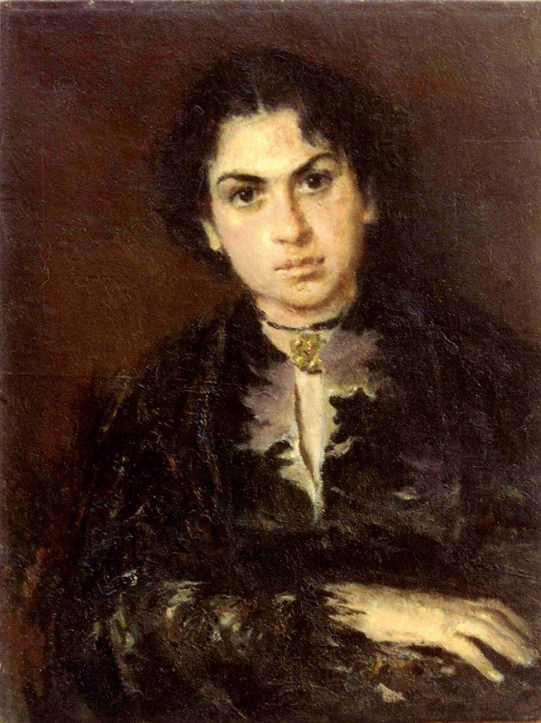 Портрет на актрисата Грациела Бъчварова
