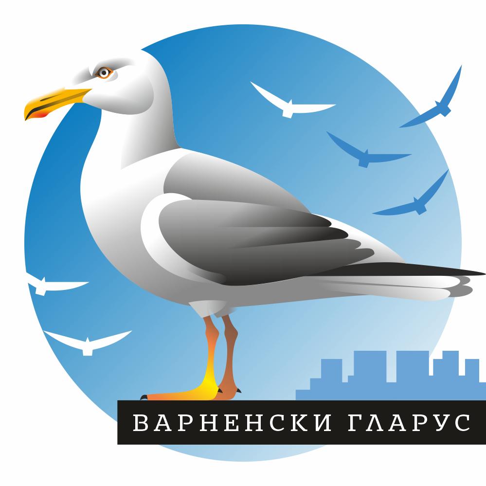 Димитър Трайчев, Варненски гларус, дигитален принт