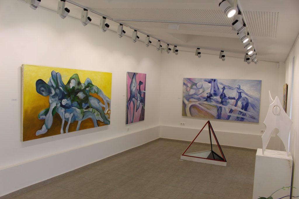 Кът от изложбата на Тодор Серафимов 1