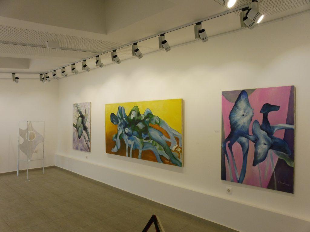 Кът от изложбата на Тодор Серафимов 2