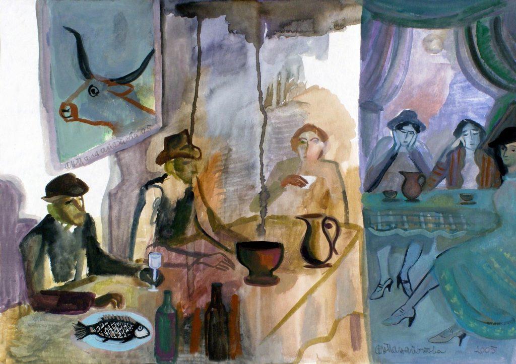 Анастасия Панайотова, Приятелска сбирка, по Джойс