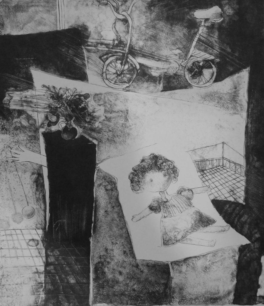 Мария Чакърова, графика